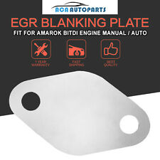 EGR Blanking Plate FOR VW Amarok BiTDi Manual Auto - Stop engine stall condition