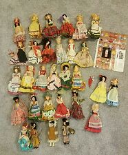 COMPLETE SET OF 30 Reddi-Wip/Welch's dolls of the world 60's original clothing