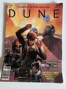 Marvel Super Special #36 DUNE Movie Adaption Herbert MAG 1984 TV Reboot Film