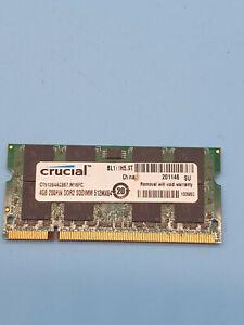 CT51264AC667.M16FC Crucial 4GB PC2-5300 DDR2-667MHz non-ECC Unbuffered UK
