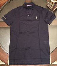 Ralph Lauren Purple Label Polo Shirt Big Pony Sz Small Navy Blue Made In Italy