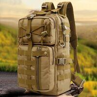 30L Outdoor Military Rucksacks Tactical Backpack Camping Hiking Trekking Bag HOT