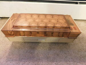 Vintage Clairol Kindness Deluxe 3-Way Hair setter K-400 - 20 Rollers & Clips
