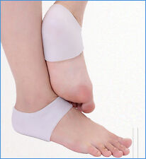 Silicone gel Heel socks moisturizing for cracked foot skin protector 1 Pair