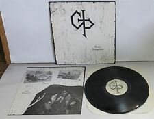 Gothic Playground self titled 1987 LP Vinyl Record private indie punk  s/t
