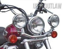 Halter für 2 Zusatzscheinwerfer Lampenhalter Yamaha Virago XV750 XV1000 XV1100