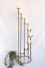 Kerzenständer Art.225 aus Schmiedeeisen 102 cm Kerzenleuchter aus Metall