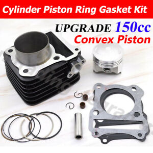 150cc Big Bore Upgrade Cylinder Piston For LEXMOTO Pulse Adrenaline 125  K157FM