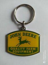 Porte-clés Tracteur JOHN DEERE Quality Farm Equipment keychain vintage an.90