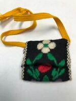 Vintage BARBIE IN MEXICO Doll 1964 Red Green Bag