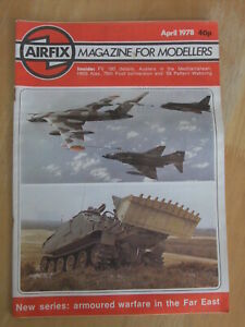 Airfix Magazine - scale modelling subjects 1977 to 78 (various issues available)