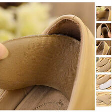 NEW 5 pairs Sticky Fabric Shoe Pads Cushion Liner Grip Back Heel Inserts Insoles