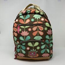 Lilly Bloom Backpack Shoulder Bag Floral Day Trip School Green Living Travel