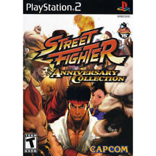 Street Fighter Anniversary Collection Sony PS2 NEW Game