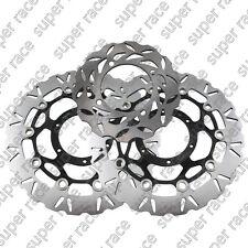 A Set Front&Rear Brake Disc Rotors For Honda CBR 600RR 03-12 CBR1000 RR 04-05