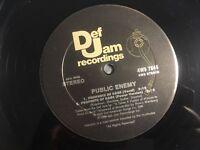 """Public Enemy - """"Don't Believe The Hype"""" (Def Jam Records) 12"""" LP (1988)"""