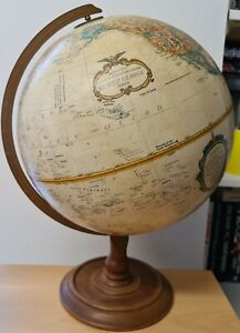 "Replogle 12"" Diameter Globe Made of Genuine Hardwood Wold Classic Series"