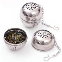Tea Infuser Ball Filter Spoon Locking Spice Loose Leaf Herbs Strainer Reusable