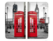 British phone Booth Wallet Case Cover For Samsung Galaxy S5 - A024
