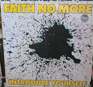 Faith No More Introduce Yourself Rare Lp Metallica Ex Cond