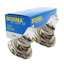 2 x Lampe Bosma P26s 12V 15W S3 Halogen Premium E-Geprüft Glühbirne Scheinwerfer