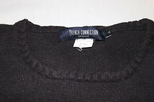 French Connection Men's  VINTAGE Sweater crew neck size XL FCUK