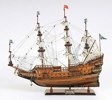 "Vasa 1628 Wasa Swedish Warship Handmade Tall Ship Model 38"" T102"