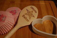 """Wooden Spoon Personalised """"Star Baker"""""""