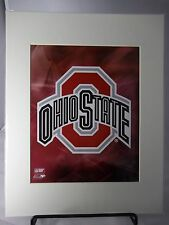 "Ohio State Logo  8"" x 10"" Photo with 11"" x 14"" Mat"