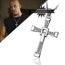 FAST AND FURIOUS COLLANA DOMIC TORETTO Necklace e furios vin diesel croce Dom &