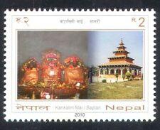 Nepal 2010 kankalini TEMPIO/BUILDING/architettura/Religione/Santuario 1 V (n38950)