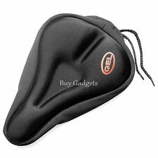 Bike Bicycle Seat Saddle Cover Extra Comfort Padding Soft GEL Cushion