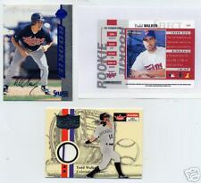 TODD WALKER 2 CARDS-1 RC AUTO AND 1 JERSEY CARD