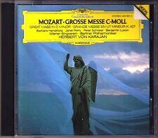 Herbert von KARAJAN: MOZART Great Mass c-moll HENDRICKS SCHREIER CD Janet Perry