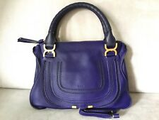Chloe Marcie Medium Blue Storm Bag 640eead8962