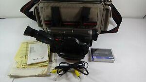 Hitachi VM-E510A 8mm Video8 Camcorder VCR Player Camera Video Casette #A8