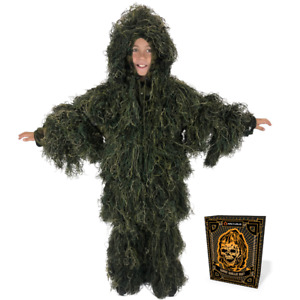 Kids Arcturus Ghost Ghillie Suit | Perfect for Hunting or Airsoft!