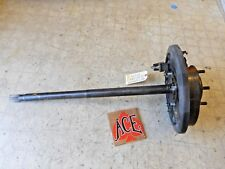 00-02 Toyota Tundra RIGHT Passenger REAR Axle Shaft w Backing Plate NON ABS