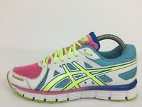 Asics Gel-Attract Multicoloured Textile Sneaker Trainer T5D0N Women UK 5 Eur 38