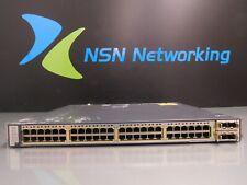 Cisco Catalyst WS-C3750E-48PD-SF 48-Port Gigabit PoE Switch NO PSU INCLUDED LOTA