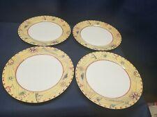 "International Tableworks ""Magellan"" Set/4 Dinner Plates. UNIQUE"