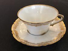 Theodor Haviland (for Higgins/Seiter,N.Y.) cup & saucer set