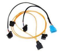 18e1 juego de cables cambiador de CD audi MMI 2g Plug Play LWL de fibra a4 a8 a6