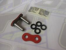 EK Motorcycle Chain Rivet Type Joining Link - 525 SRX / SRX2 X-Ring NEW - RED