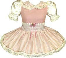 READY 2 WEAR | Pretty Ivory ROSE Adult Baby Sissy Girl HALLOWEEN Dress LEANNE
