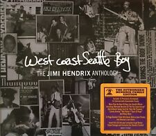 JIMI HENDRIX Anthology West Coast Seattle CD Digipak  RARE Brand New And Sealed