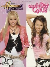 Hannah Montana 2 Meet Miley Cyrus Play Pop Songs Piano Vocal Guitar MUSIC BOOK