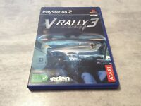 PS2 V-Rally 3 III PLAYSTATION 2 SONY PAL FR COMPLET