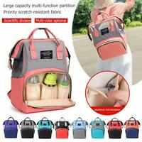 Fashion Mommy Maternity Nappy Diaper Bag Large Capacity Baby Bag Travel Backpack
