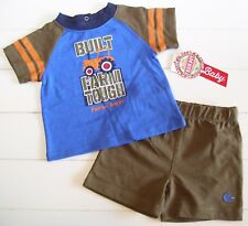 """Farm Boy Orange 1pc Shirt /""""Let/'s Pig Out/"""" Infants//Babies Up To 9mos NWT"""